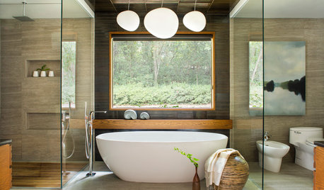 Salle de bains de la Semaine : Zen et raffinement