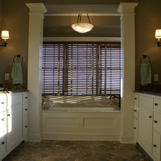 Farmhouse Bathroom by MDC Cabinetry & More