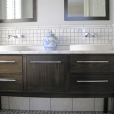 Traditional Bathroom by Merry Powell Interiors