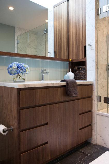 Midcentury Bathroom by Regan Baker Design