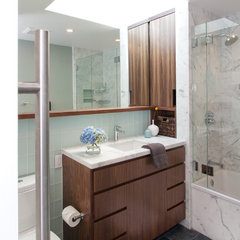 modern bathroom by Regan Baker Design