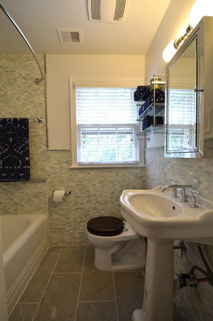 Traditional Bathroom by Nicole Lanteri Design