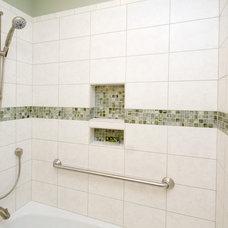 Traditional Bathroom by emma delon
