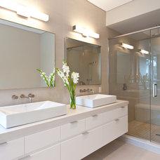 Contemporary Bathroom by Handwerk Interiors