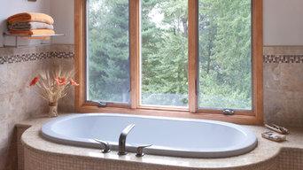 A Stylish Elegant Master Bath