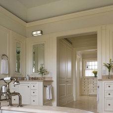 Traditional Bathroom by John B. Murray Architect