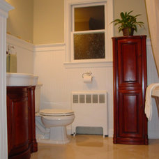 Traditional Bathroom by Interior Remake by Elaine's Design