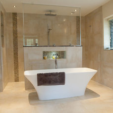 Contemporary Bathroom by Sanctuary Bathrooms Ltd