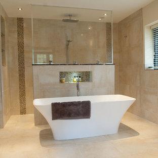 Contemporary bathroom in London.
