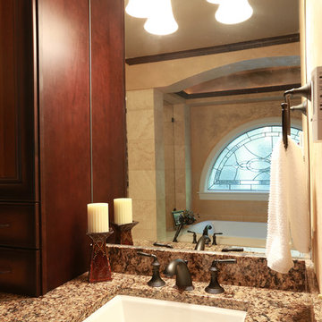 A Touch of Venice Master Bathroom