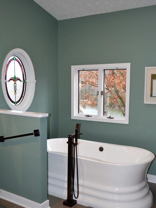 Houzz richmond bathroom and cloakroom with multi for Bathroom design richmond