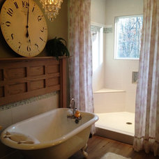 Eclectic Bathroom by Devine Designs