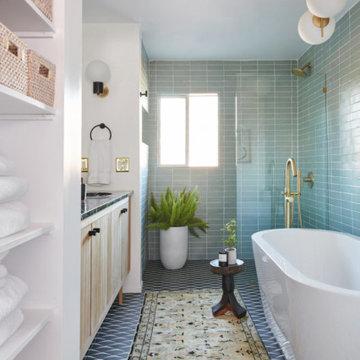 A Vintage Splendor Master Bathroom Tiles Reveal