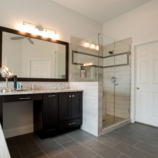 A Warm and Light Bathroom and Kitchen Remodel in Keller, TX