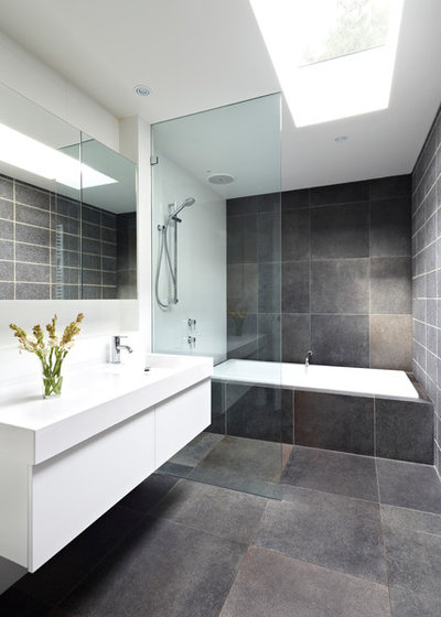Contemporary Bathroom by Quadrant Design Architects