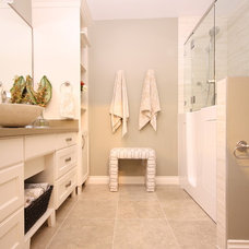 Contemporary Bathroom by Kendra Redekop Design