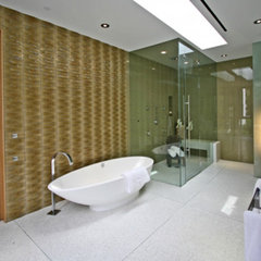 modern bathroom by Globus Builder