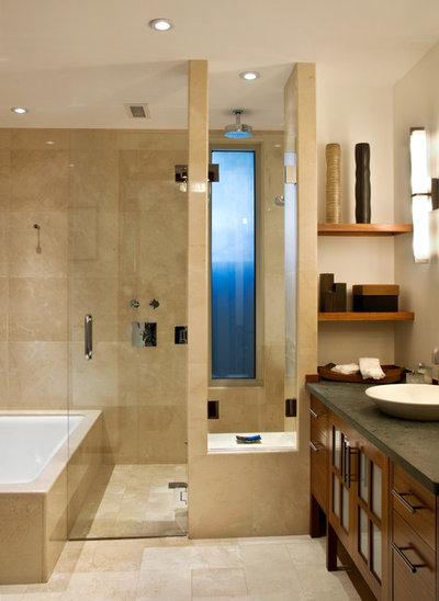 Contemporary Bathroom by Lapis Design Partners