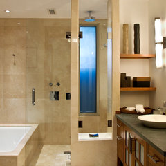 contemporary bathroom by Lapis Design Partners