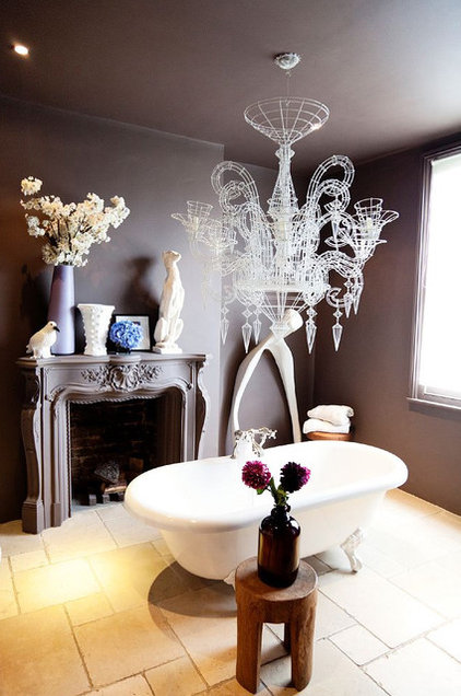 Eclectic Bathroom by Todd Selby