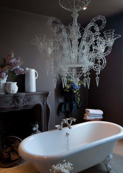 Eclectic Bathroom by Abigail Ahern