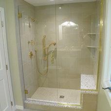 Traditional Bathroom by Renovisions, inc.