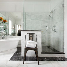 Traditional Bathroom by Susabelle Boutique