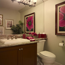 Eclectic Bathroom by Lila Levinson