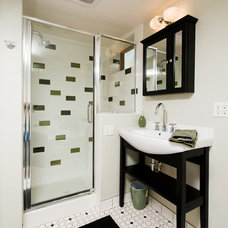 Contemporary Bathroom by HighCraft Builders