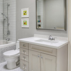 traditional bathroom by Braam's Custom Cabinets