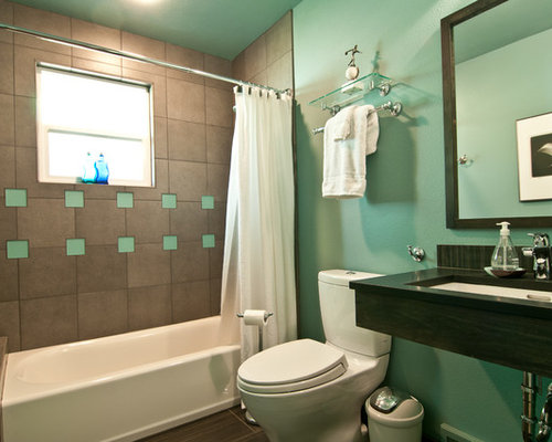 Standard size bathrooms houzz Standard width of bathtub