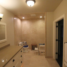 contemporary bathroom by Aloha Home Builders