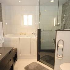 Modern Bathroom by Chantale & Co Inc.