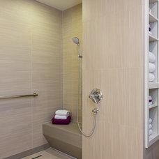 Modern Bathroom by Libertas Interior Design Solutions, LLC