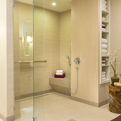 modern bathroom by Libertas Interior Design Solutions, LLC