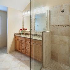 Traditional Bathroom by DreamMaker Bath & Kitchen