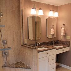Traditional Bathroom by Healey Company