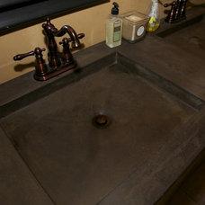 Mediterranean Bathroom by Decorative Painting & Plastering Concepts Inc.