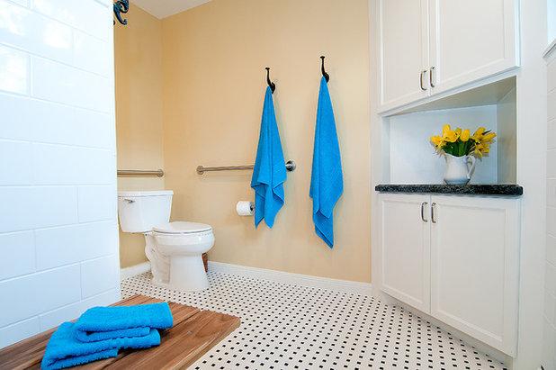 Traditional Bathroom by Greymark Construction Company