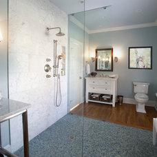 Contemporary Bathroom by Loftus Design, LLC