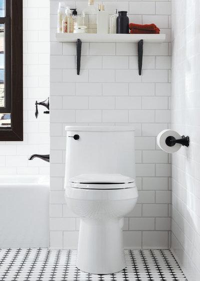 モダン 浴室 by Gerhard's Kitchen & Bath Store