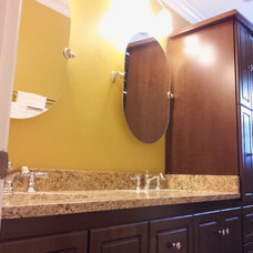 Traditional Bathroom by A&E RENOVATIONS