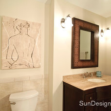 Traditional Bathroom by Sun Design Remodeling Specialists, Inc.