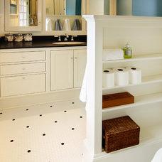 Traditional Bathroom by Henderer Design + Build