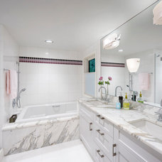Transitional Bathroom by CHRISICOS INTERIORS