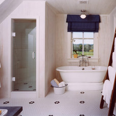 Farmhouse Bathroom by Barnes Vanze Architects, Inc