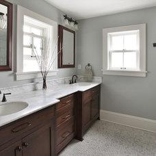 Contemporary Bathroom by Kuhl Design Build LLC