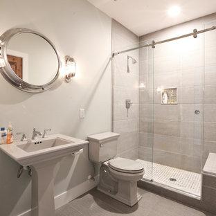 Landhausstil Badezimmer mit Laminat Ideen, Design & Bilder | Houzz