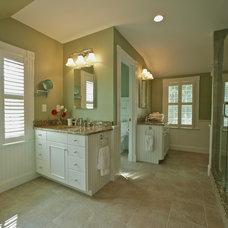 Traditional Bathroom by Joseph B Lanza Design + Building