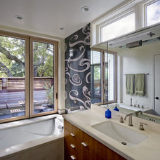 Contemporary Bathroom by Cathy Schwabe Architecture